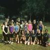 Mitch Robinson Ben Keays at Jags girls training