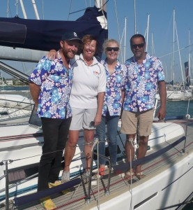 Etchellente crew Vic State Titles 2017 -Kit Ross, Sue Neales, Karen Johns, Mark Foote