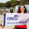 Angela Woodman winner of ORCV Latitude Race