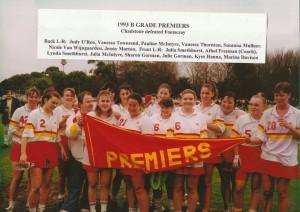 1993 B Grade Women