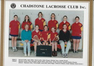 1998 U16 Girls