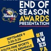 North Lakes Hawks - Championship Season, 2017 - Presentation Day