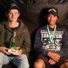 Runner Up - Sam Mahar, Winner Grant Burns