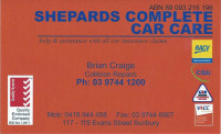 4. SHEPARDS COMPLETE CAR CARE