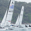 Morton and Swadling finishing 2017 with a win at Sail Sydney CREDIT Robin Evans