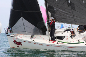 Tigris took out Line Honours for JGT 2018