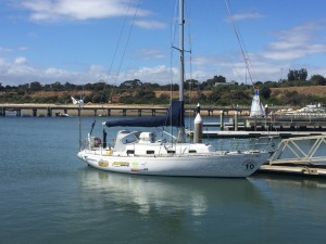 Morning Star dockside SYC and ready to go