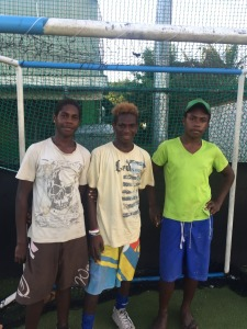 YOG Vanuatu team members after selection