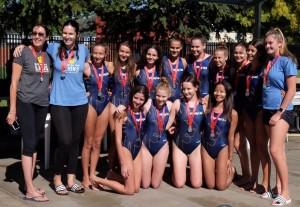 Sydney University Blue - 2018 Girls 14&Under National Silver Medalists