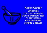 Karen Carter Chemist