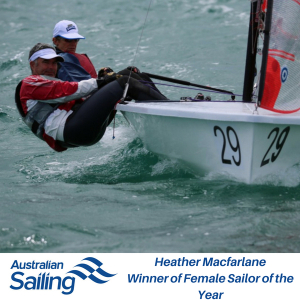 Female Sailor of the Year 2017-18 Heather Macfarlane